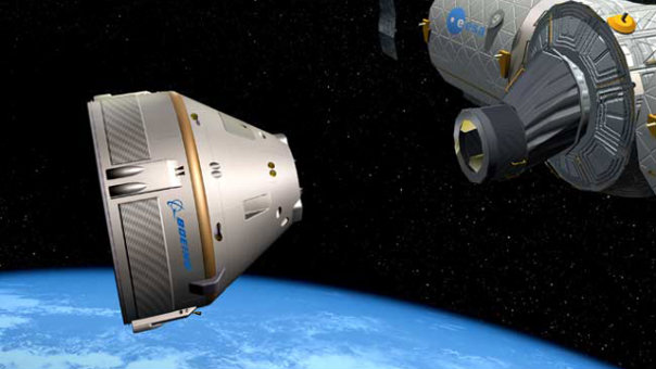 CST-100 / Credits: Boeing