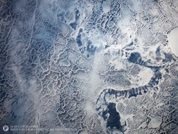 Zatoka Botnicka wykonana przez Dove 2 w dniu 26 kwietnia 2013 roku / Credits - Planet Labs