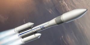 Ariane 6 - wizualizacja / Credit: ESA