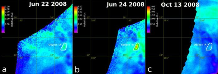 Obszar Ganiki Chasma obserwowany z pokładu Venus Express / Credits - ESA, Max Planck Institute