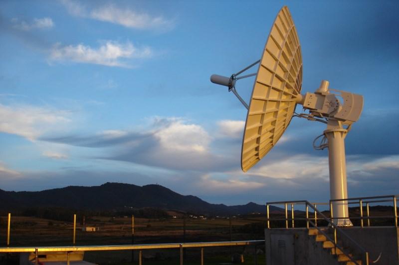 Stacja naziemna na Santa Maria / Credits - ESA