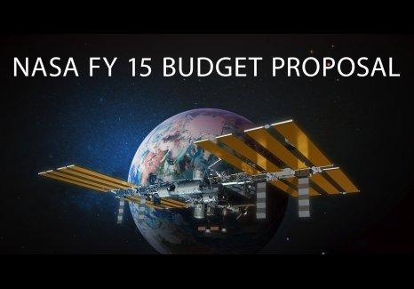 Grafika związana z propozycją budżetu NASA na rok fiskalny 2015 / Credits - NASA