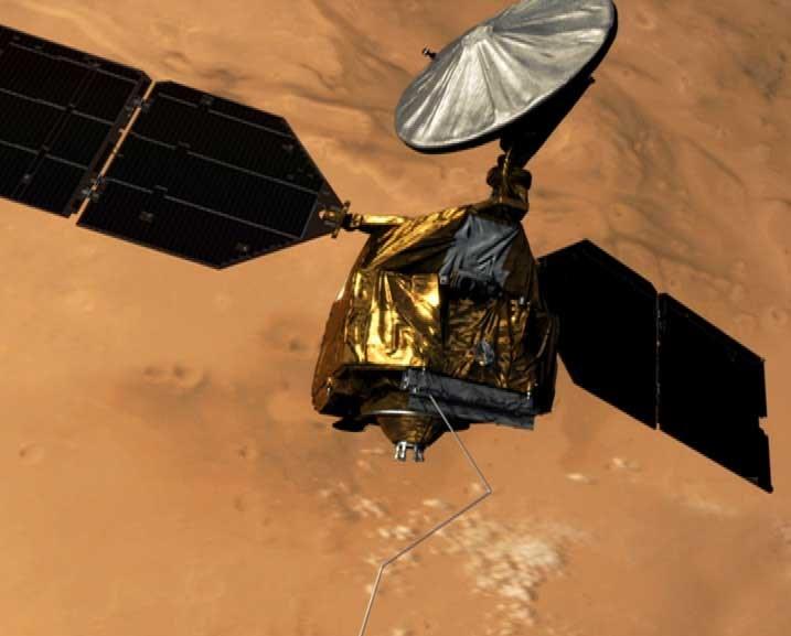 Sonda MRO - wizualizacja / Credits - NASA/JPL