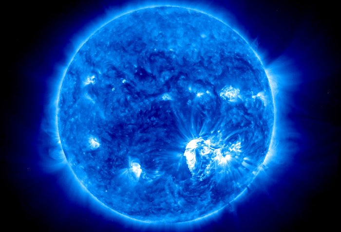 Rozbłysk z 23 lipca 2012 roku okiem sondy STEREO Ahead / Credits - NASA