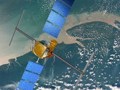 Satelita obserwacji Ziemi / Credits - ESA