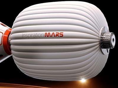 Moduł załogowy Inspiration Mars