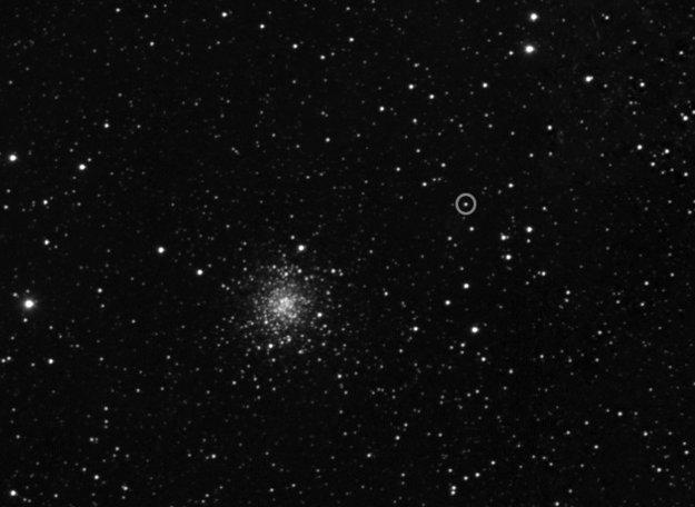 Zdjęcie komety z kamery wąskokątnej OSIRIS / Credits - ESA