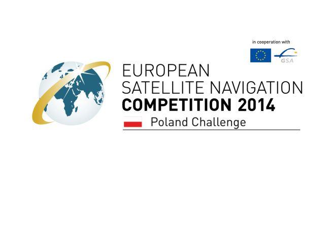 "Logotyp polskiej edycji konkursu European Satellite Navigation Competition ""Galileo Masters"" 2014 / Credits: AZO"