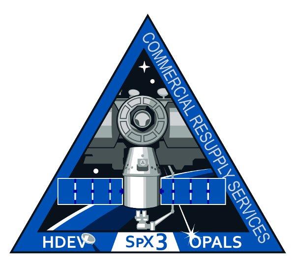 Logo misji CRS-3 / Credits - SpaceX