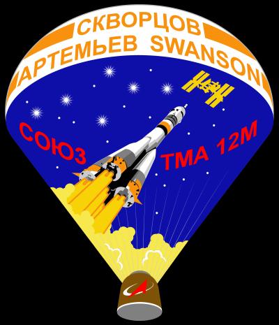 Patch misji Sojuz TMA-12M (Roscosmos)