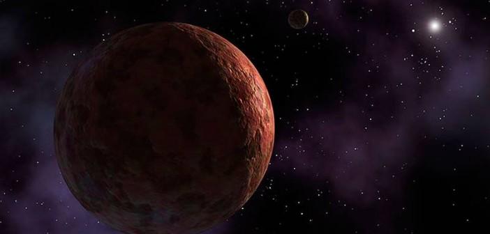 Egzoplaneta - wizualizacja