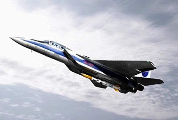 F-15E przenoszący rakietę ALASA / Credits - Boeing