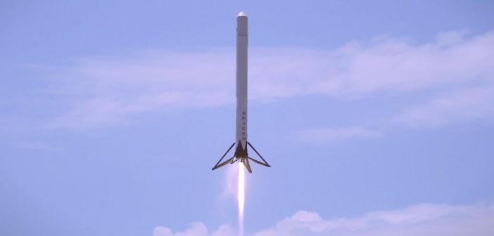 Test F9R-Dev1 z 1 maja 2014 / Credits: SpaceX
