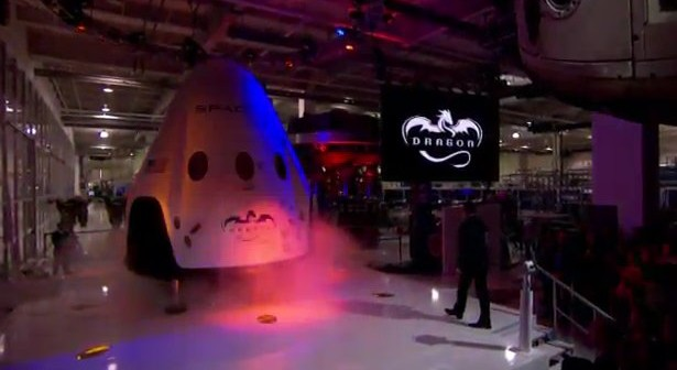 Dragon V2 / Credits - SpaceX Channel