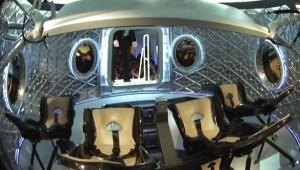 Wnętrze Dragona V2 / Credits - SpaceX