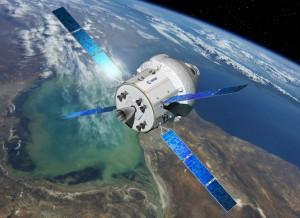 MPCV Orion z europejskim modułem serwisowym ESM, wizualizacja / Credits: ESA/D. Ducros