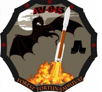 Logo misji AV-045