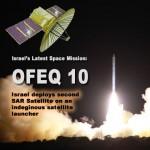 Start rakiety z satelitą Ofeq-10.