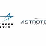 Loga firm Lockheed Martin i Astrotech / Credits: Lockheed Martin, Astrotech