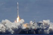 Start rakiety Zenit-3SL z pływającej platformy startowej Sea Launch firmy Sea Launch / Credits: Sea Launch