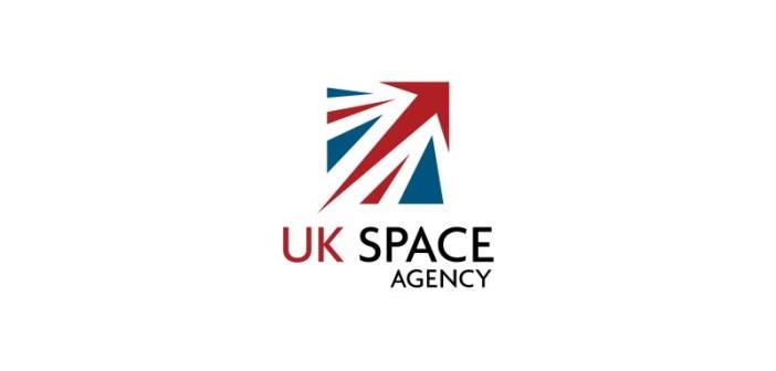 Logotyp brytyjskiej agencji kosmicznej UKSA / Credits: UKSA