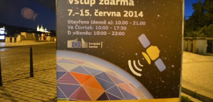Banner wystawy Space Expo w Pradze / Credits - Krzysztof Kanawka, Kosmonauta.net