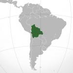 Położenie Boliwii na mapie świata / Credits: Connormah, CC-BY-3.0