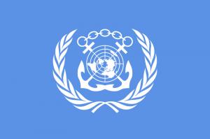 Logo Międzynarodowej Organizacji Morskiej, IMO / Credits: IMO, ONZ