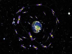 Docelowa konstelacja systemu Galileo - wizualizacja / Credits: ESA