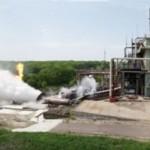 Test silnika LM10-MIRA na gaz ziemny, w ośrodku Biura Konstrukcyjnego Chimawtomatika SA (OAO KBKhA) / Credits: OAO KBKhA