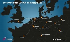 Docelowa sieć anten systemu LOFAR w Europie / Credits: Astron