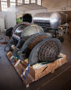 Kokpit pierwszego egzemplarza statku XCOR Lynx / Credits: XCOR