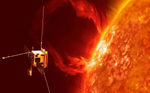 Sonda Solar Orbiter - wizualizacja / Credits: ESA/AEOS