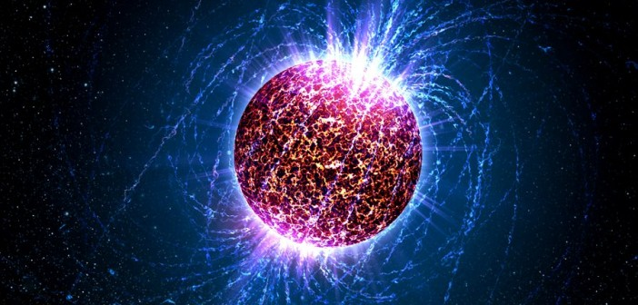 Wizualizacja gwiazdy neutronowej / Credits - NASA