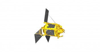 Wizualizacja satelity SPOT-6/SPOT-7 / Credits: EADS Astrium (Airbus Defence and Space)