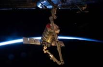 Cygnus przechwycony przez SSRMS / Credits - NASA