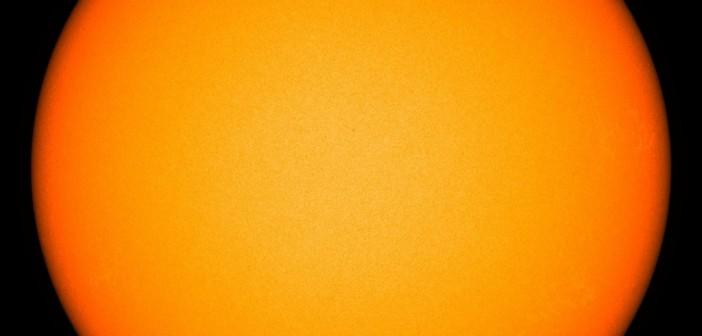 Pierwszy od 14 sierpnia 2011 dzień bez plam słonecznych / Credits - NASA, SDO