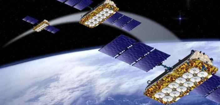 Satelity O3b na orbicie - wizja artystyczna / Credit: O3b Networks Ltd.