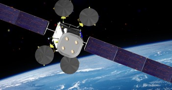 Satelita Intelsat IS-22, oparty o platformę 702MP firmy Boeing / Credit: Boeing