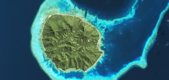 Prywatna wyspa Kanacea w archipelagu Lau, należąca do Fidżi / Credits: © Airbus DS/Spot Image (2014)