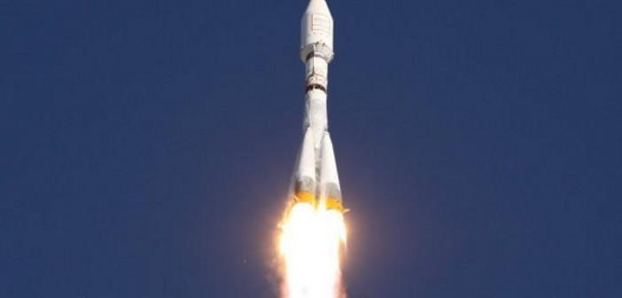 Start rakiety Sojuz-2.1b/Fregat z satelitą Glonass-M / Credits: Roskosmos
