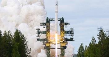 Start rakiety Angara-1.2PP, pierwszej rakiet z rodziny Angara, 9 lipca 2014 / Credits: Ministerstwo Obrony FR