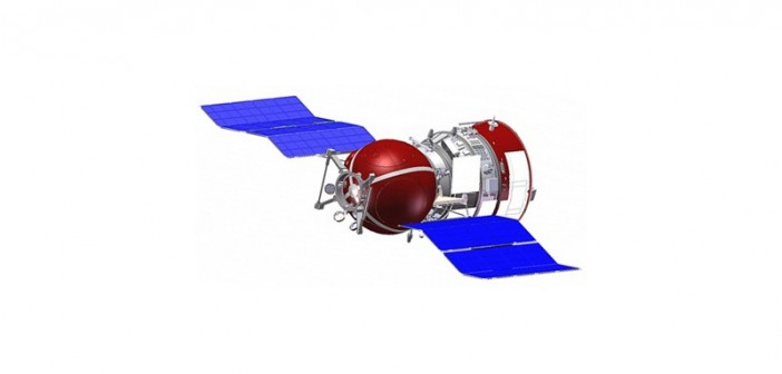 Wizualizacja satelity Foton-M 4 / Credit: TsSKB-Progress