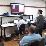 Obsługa ISEE-3 w trakcie prac nad TCM w McMoon - centrum kontroli założonym w dawnej restauracji McDonald's / Credits: ISEE-3 Reboot