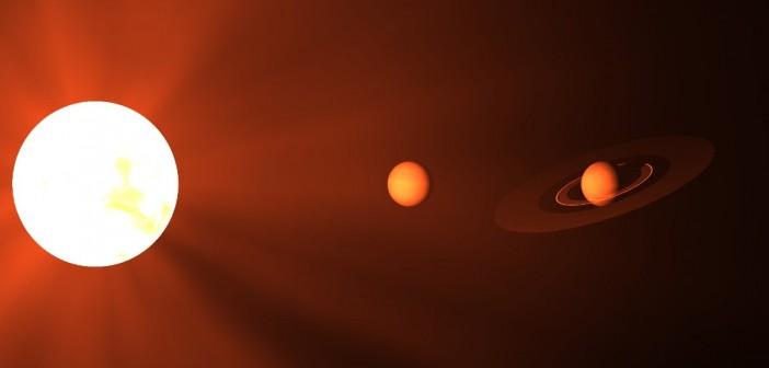 Wizja artystyczna układu Gwiazdy Kapteyna / Credits - Copyright, University of California, Irvine