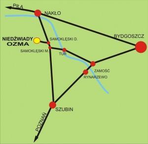 Dojazd do Niedźwiad / Credits - PPASE
