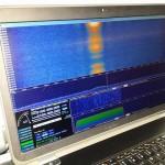 Zobrazowanie pierwszego sygnału odebranego z satelity Heweliusz / Credit: BRITE-PL