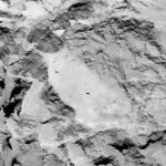 Zbliżenie miejsca A, kandydata na lądowisko Philae / Credit: ESA/Rosetta/MPS for OSIRIS Team MPS/UPD/LAM/IAA/SSO/INTA/UPM/DASP/IDA