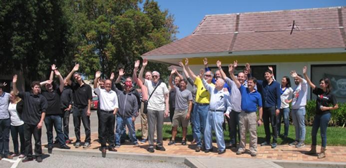 Zespół ISEE-3 Reboot Project żegna sondę ISEE-3 w trakcie jej zbliżenia do Ziemi, 10 sierpnia 2014 / Credit: ISEE-3 Reboot Project