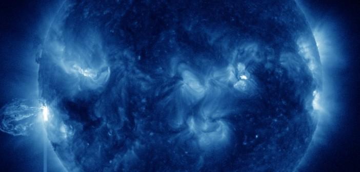 Rozbłysk klasy M5.9 z 24 sierpnia / Credits - NASA, SDO